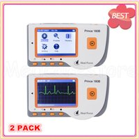 Wholesale 2 PACK New Full color LCD Screen Heal force Prince B Handheld ECG Portable Monitor with USB