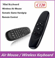 air controller game - C120 Fly Air Mouse Mini Wireless QWERTY Keyboard Remote Control Game Controller Gyroscope For Android TV Box MXQ M8 M8S MXIII T8
