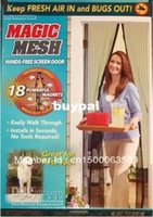 Wholesale Magic Mesh Bugs out Magnetic Hands free Screen door Keep Fresh Air In Bugs Out lotpnm1