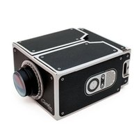 Wholesale 1pcs For iphone s DIY SmartPhone Projector Mobile Phone Projector Mini Portable HD Easy Micro Projector Cinema Home Theater Beamer