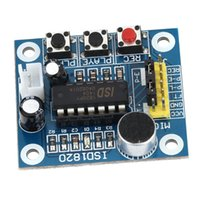 audio playback module - ISD1820 Sound Voice Recording Recordable Playback Module with Mic Sound Audio Loudspeaker order lt no track