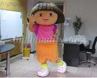 dora mascot - DORA plush Cartoon party Mascot Costume