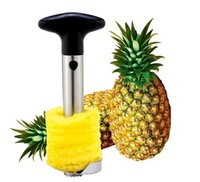 pineapple cutter - Pineapple Corer Slicers Peeler Parer Cutter Knife Stainless Steel Fruit Tools Kitchen Gadget Free DHL Factory Price