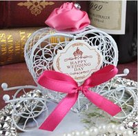 art moving boxes - 6 Colors fashion European style iron art carriage wedding candy box creative gift box event party suppliesTH