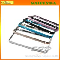 Wholesale New Arrival Luxury Aluminum Metal Bumper Case For inch iPhone