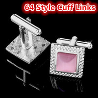 Wholesale Silver Plated Men s Cuff Links Style Opals French Cuff Button Brand Business Suit Fashion Accessories Women Shirt Sleeve Button