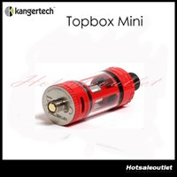 available now - Available now Authentic Kanger Toptank Mini Atomizer ml Top Refilling Sub Ohm Tank with Delrin Drip Tip