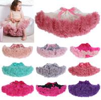 girls pettiskirts - Girls TuTu Skirts Baby Pettiskirt Girls Skirts Pettiskirts for Kids Tutu Chiffon Ruffles Skirts Colors