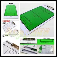 Wholesale soccer basketball volleyball coaches vertical tactics board disk board soccer tactics board Non magnetic football marker boards