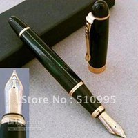 Wholesale Jinhao M nib KGP fountain pen gold green black