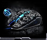 Cheap Best seller free shipping 4000 DPI 6D buttons led back light mouse wired gaming mouse USB wired game mice for laptops desktop