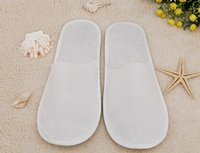 Wholesale Cheap Hotel Slippers One Time Use Motel Slippers Disposable Spa Slipper For Inn pairs