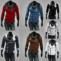 assassin s creed ezio hoodie - Assassins Creed Hoodies Assassin Creed EZIO Cosplay Jacket Colors Mens Assassin Creed Hoodies Sweatshirt Costume