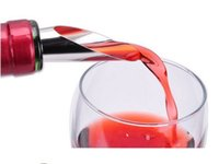 Wholesale Stainless steel Drop stop Red wine pourer Elegant Wine Bottle with Stopper Set