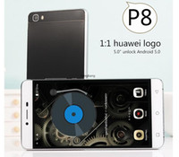 Wholesale Huawei P8 Phone New China Copy phone Octa Core Android cellphone G RAM GB ROM g WCDMA GPS WIFI Android Phones Unlock