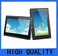 Wholesale hot sale Q8 A33 inch Capacitive Screen Quad Core Android Tablet Pc Dual Camera MB GB Wife Webcam