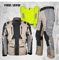 adventure touring - Motoboy new touring adventure motorcycle protective layer jacket pant suit high visible vest and waterproof and warm liner