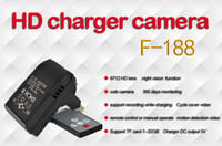 Wholesale HD P Spy Charger Camera Night vision Motion detection F support recording while charging days monitoring