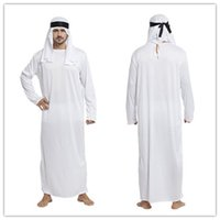 indian clothes - R H Halloween costumes for adults Children s Day performance clothing mounted Arab prince Cosplay MOQ set drop shipping