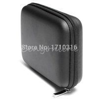 Wholesale Best Price Classic Black Hard Carry Case Cover Pouch for USB External WD HDD Hard Disk Drive Protect Protector Bag Enclosure