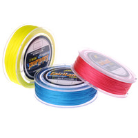 Wholesale 100m yd PE Braided Fishing Line Color available LB Tensile Strength Angling Dyneema fish line
