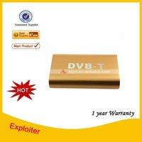 Cheap DVB-T Digital Car TV Receiver Box w  Antenna for European ,Free Shipping