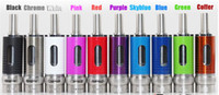 16mm - 2015 New iTank spin II airflow control atomizer dual coils rebuildable clearomizer mm fit with ego vision spinner II battery MOW EMOW