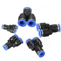Wholesale Brand New Pneumatic Equal Y Connector Push In Fittings For Air Water Hose Tube mm Hot Sale