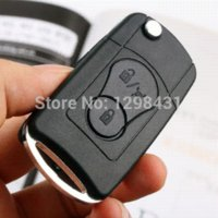 actyon suv - Modify fob Key Case Folding Flip Remote for Ssangyong Actyon SUV Kyron Rexton M39221 car fold display