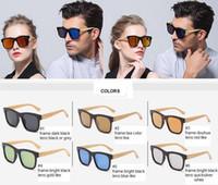2016 Les meilleures lunettes de soleil de bambou de qualité supérieure de vendeur-Meilleures ventes ont polarisé l'eyewear de lentille adapté aux besoins du client acceptent les hommes / les femmes de lunettes de bambou