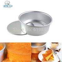aluminum aloy - 8 Inch Round Shape Cake Bread Mould Cake Baking Pan Removable Base Bottom Aluminum Aloy Cake Baking Tools