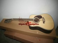 12 string acoustic guitar - Natural Strings Acoustic Guitar Abalone Inlay Best