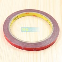 Wholesale 3M double sided tape double sided adhesive glue stick word trim modified with plastic mm m