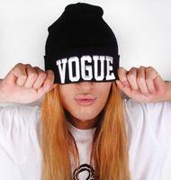 baseball crochet - Hot sales Women Hip Hop Hat VOGUE Skull Beanies Hats Knitted crochet Wool Hat Cap Men Letter Hat beanie Baseball cap hip hop Hat