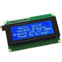 Wholesale IIC I2C x Character LCD Display Module Blue