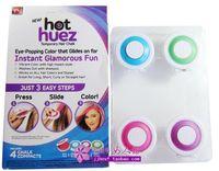 Wholesale hot huez one hair coloring powder box Hot Huez hair is hair dye cake box
