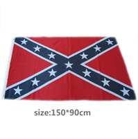 Wholesale 90 cm flags Two Sides Printed Flags Confederate Rebel Civil War Flags National Polyester Flags X FT