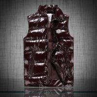 Wholesale Fall Bodywarmer winter warm ultra light down vest men sleeveless jacket doudoune sans manche homme chaleco hombre glossy gilet men