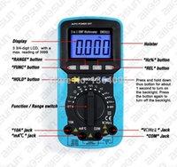 automotive ammeter - all sun in Digital Multimeter Voltmeter Ammeter Ohmmeter DC AC EMF Multimeter LCD Multi function Automotive Tester EM5511