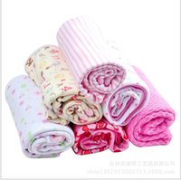 Wholesale Gifts cotton blankets baby blankets reportedly sleeping blanket air conditioning blanket child multicolor random hair
