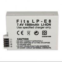 Wholesale LP E8 LP E8 LPE8 Camera Batteries Battery for Canon EOS D D