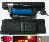 Wholesale HOT SELL Red Laser Pointer Pen Lazer Beam battery charger Holster