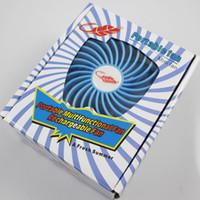 Wholesale 100pcs DHL F95B Protable Fan Multifunctional Rechargerable USB Mini Fan Kids Table Fan With Battery LED Light