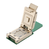 Wholesale flash memory tester socket fixture Contactor connector progamming ic reader Solutions BGA169 Socket SD Solution_14X18mm Perform eMMC Adapter