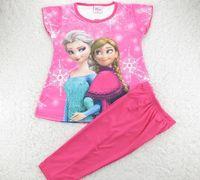 children in underwear - Frozen Underwear Leisure Wear Pajamas Of The Girls Children In Europe And The Cartoon Children s Suit