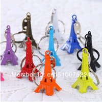 Wholesale hot sale eiffel tower decoration keychain