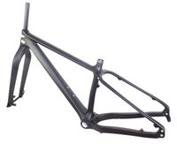 Wholesale 26er Fat bike carbon frame rear space mm fork space mm throu axle