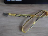 Wholesale Customized Cheap High Quality Colorful Lanyard Lanyards With Printed Letter