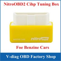 car chip tuning tool - New Arrival NitroOBD2 Benzine Car Chip Tuning Box More Power More Torque Nitro OBD Plug and Drive OBD2 Tools High Quality