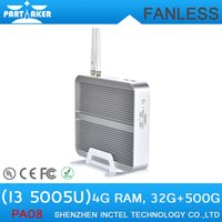 Cheap Wholesale-Best Selling Fanless Pocket PC Mini Laptop Cheap with 5th Generation CPU Intel Core i3 5005U Mini PC
